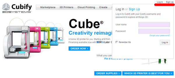 Cubeサイト登録&アクティベーション